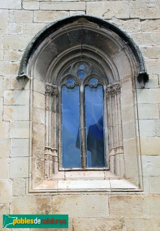 Verdú - Església de Santa Maria, finestra gòtica