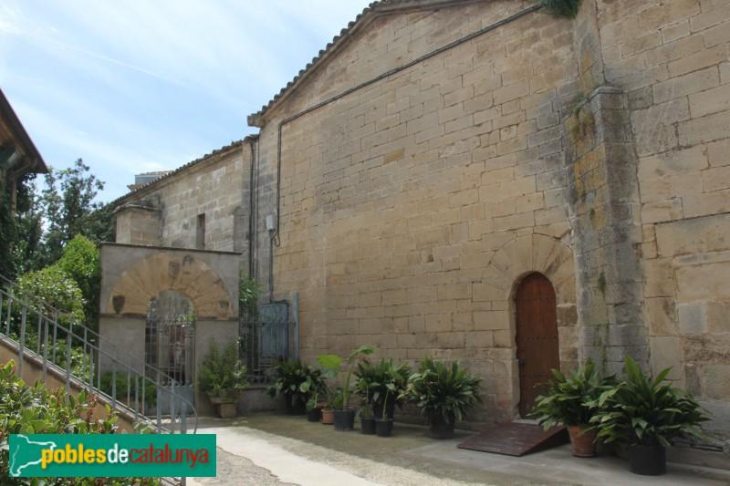 Verdú - Església de Santa Maria, façana lateral