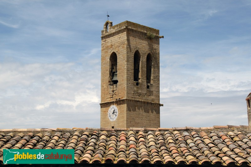 Verdú - Església de Santa Maria, campanar
