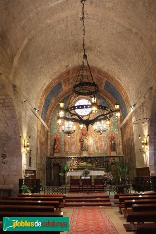 Verdú - Església de Santa Maria, nau principal