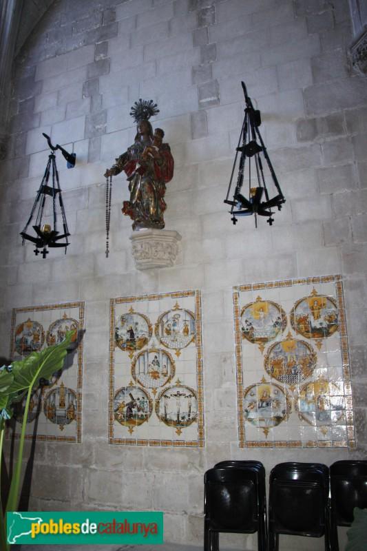 Verdú - Església de Santa Maria, capella del Roser