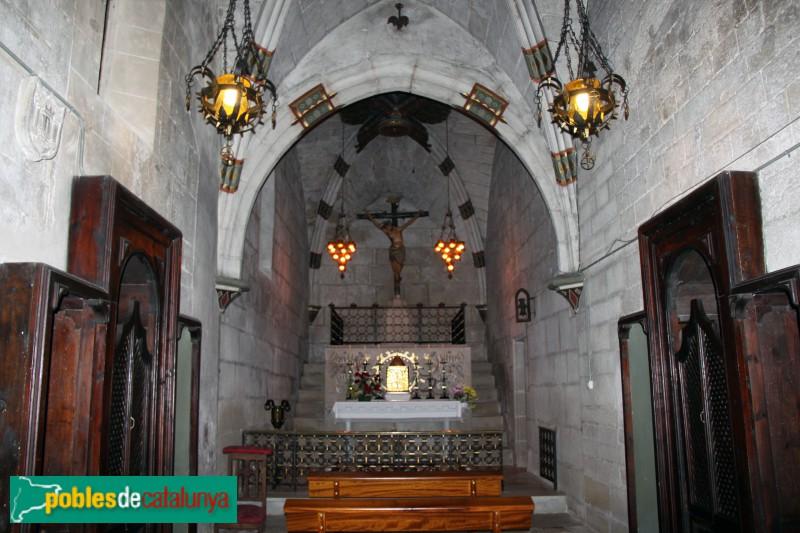 Verdú - Església de Santa Maria, capella del Santíssim