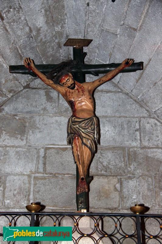 Verdú - Església de Santa Maria, Sant Crist dels segle XIII-XIV
