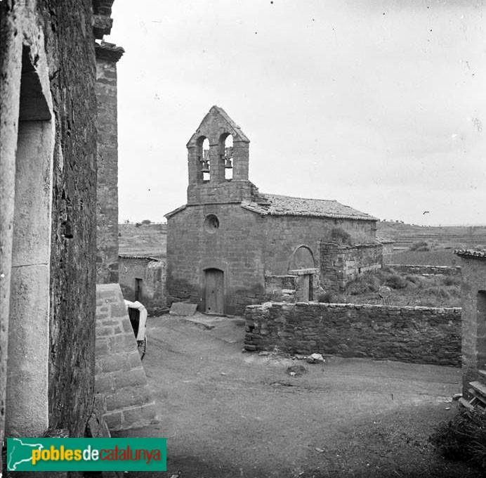 Tàrrega - Església de Sant Gil (Riudovelles) Salvany 1918