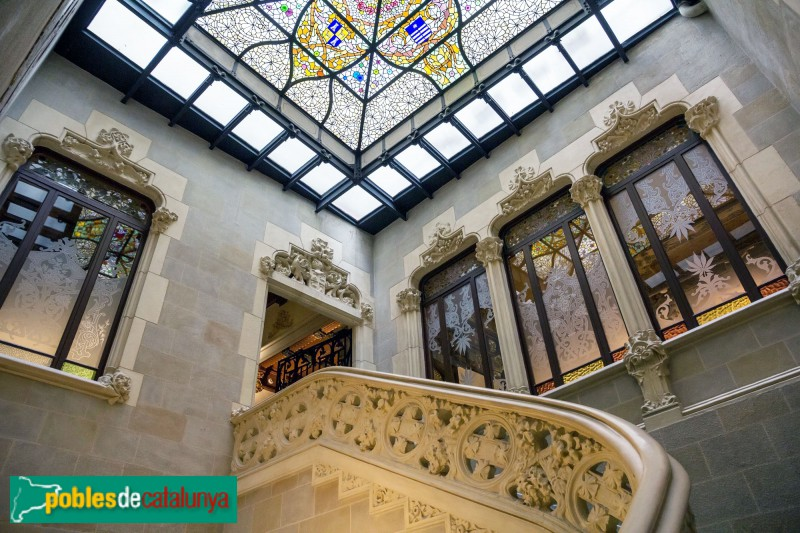 Barcelona - Palau Mornau, interior