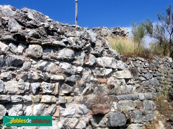 Collbató - Muralla del castell