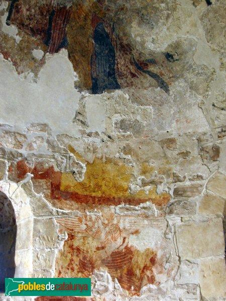 Calafell - Santa Creu del castell, pintures