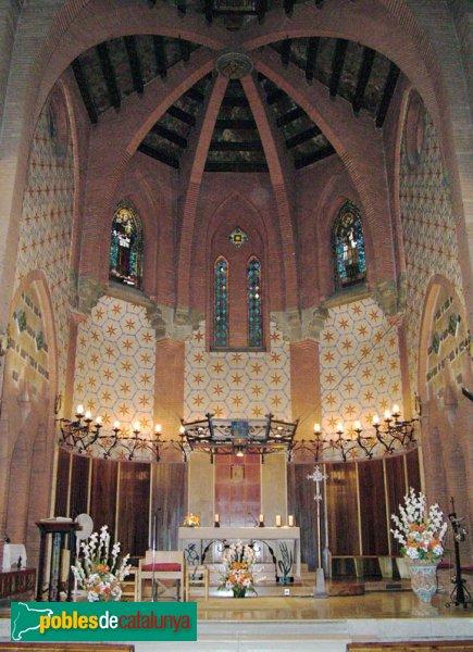 Cervelló - Sant Esteve, interior