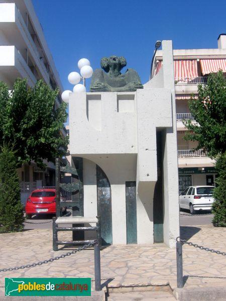 Cubelles - Monument a Charlie Rivel - PdC 2006