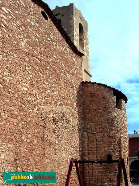 Cunit - Absis romànics