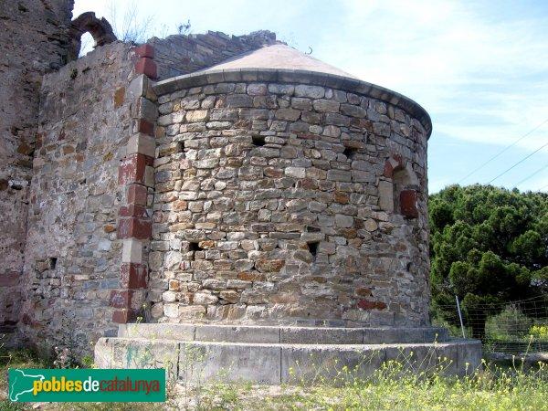 Molins de Rei - Sant Pere de Romaní (absis)