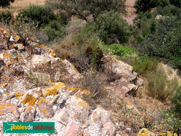 Olesa de Montserrat - Castell  de Sacama