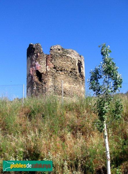 Sant Boi de Llobregat - Torre de Benviure, abans de la restauració