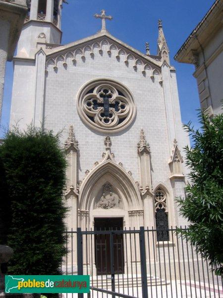 Sant Boi de Llobregat - Porta església Psiquiàtric