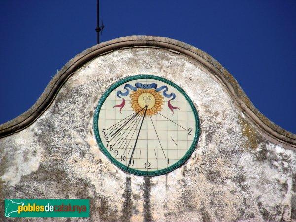 Hostalets de Pierola - Can Pasqual, rellotge de sol