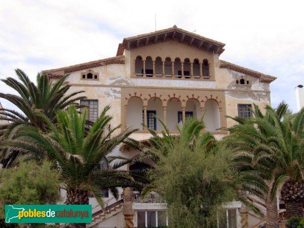 Casa vilella sitges passeig mar tim vinyet pobles de catalunya - Casa vilella sitges ...