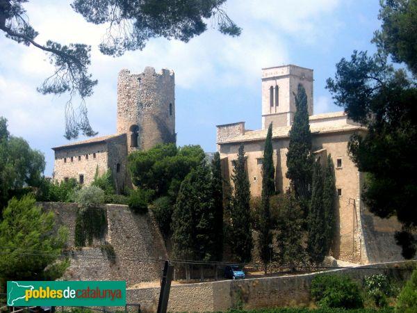 Sant Pere de Ribes - Castell de Ribes i església vella