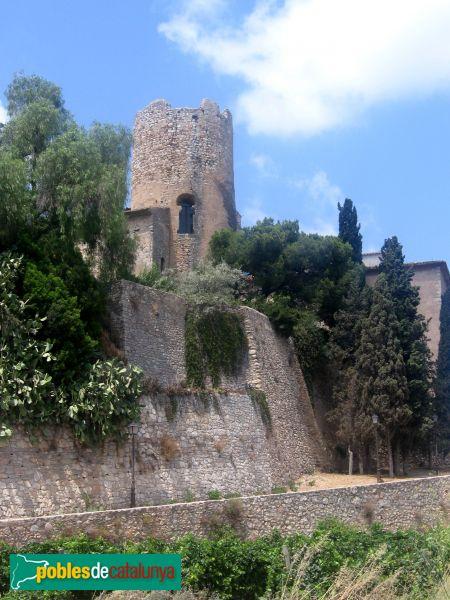 Sant Pere de Ribes - Castell de Ribes