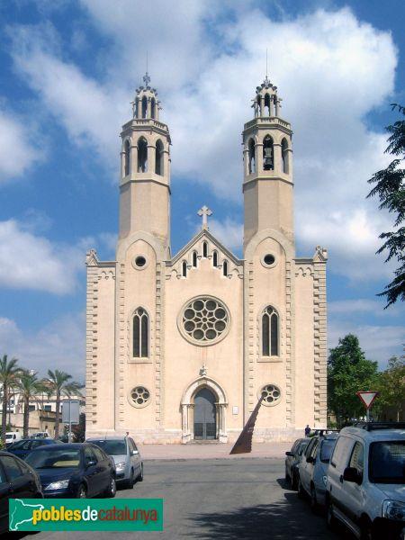 Sant Pere de Ribes - Església nova