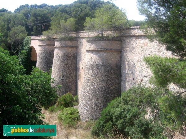 Sant Pere de Ribes - pont de Can Coll - PdC 2006