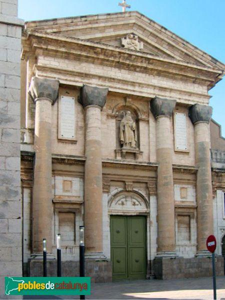 Vilanova i la Geltrú - Església Sant Antoni Abat, façana posterior